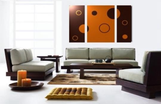 cuadros abstractos modernos para decorar