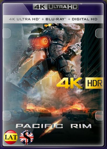 Titanes del Pacífico (2013) 4K UHD HDR LATINO/INGLES