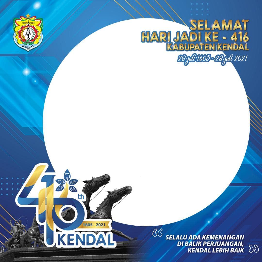 Link Download Bingkai Foto Twibbon Selamat Hari Jadi ke-416 Kabupaten Kendal 2021 - Twibbonize