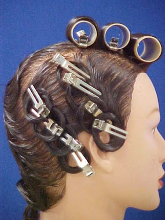 How To Pin Curl Wet Hair On Natural Hair