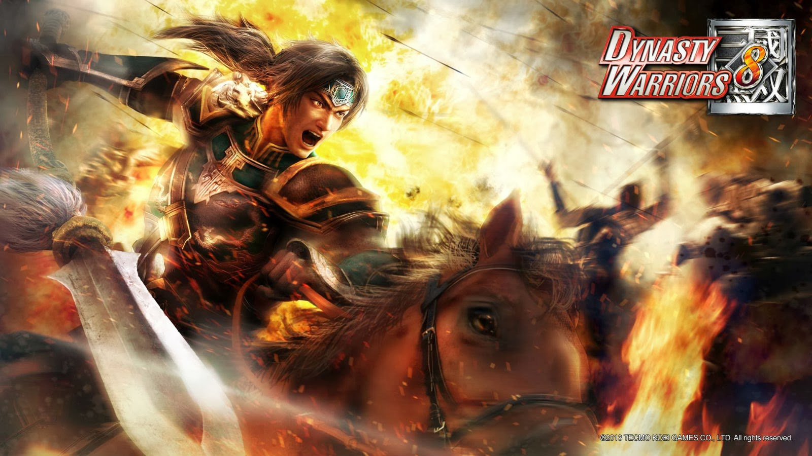 Wallpaper สามก๊ก Dynasty Warriors8