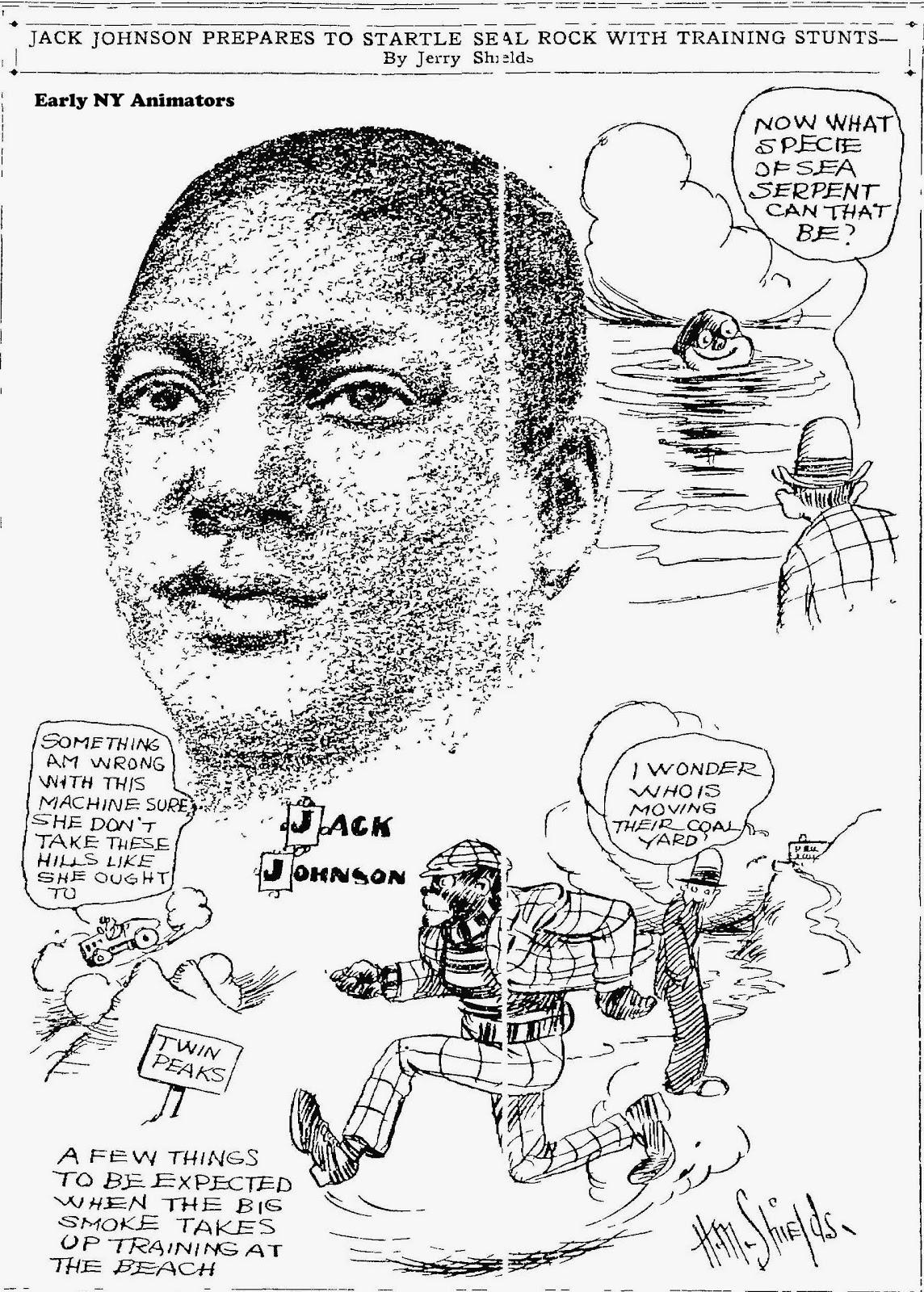 Early NY animators: Print Cartoons by Pioneer Animators