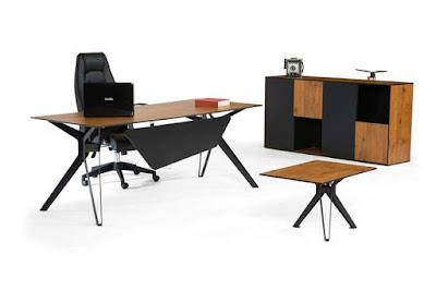 ankara,ofis masası,makam masası,yönetici masası,metal ayaklı,