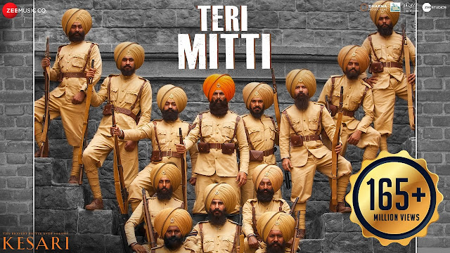 Teri mitti song lyrics