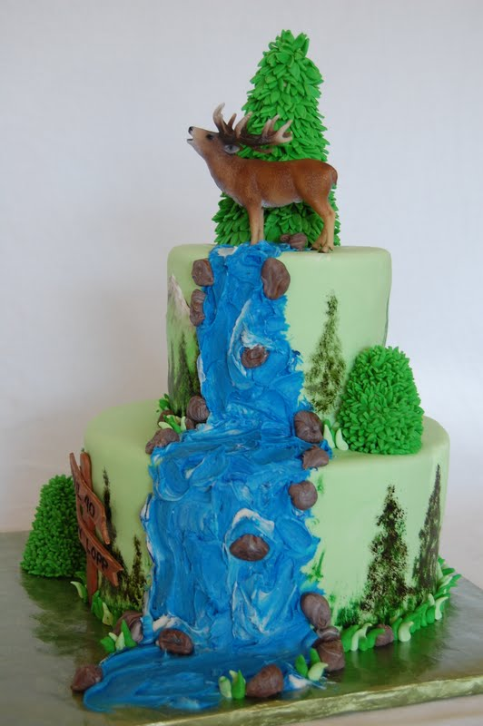 Cakefilley Mountain Elk Cake