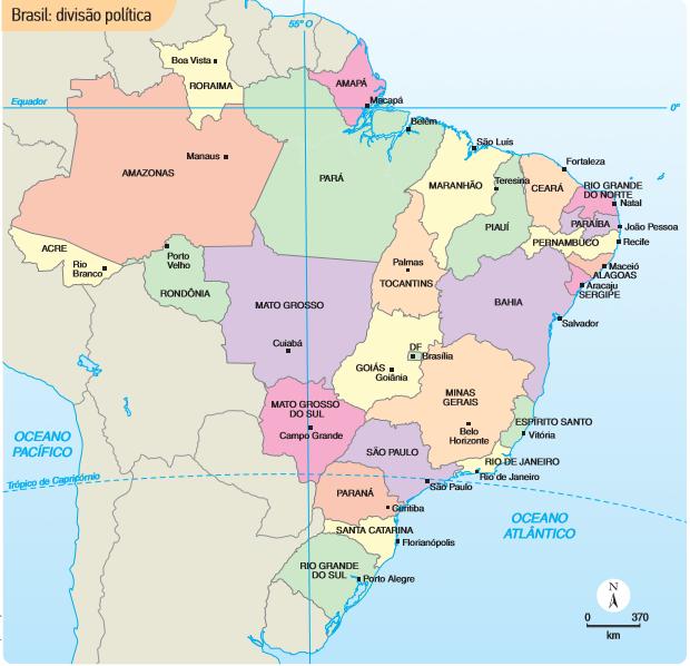 mapa brasil politico