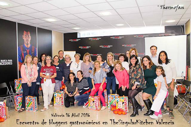 Encuentro de bloggers TSK Valencia