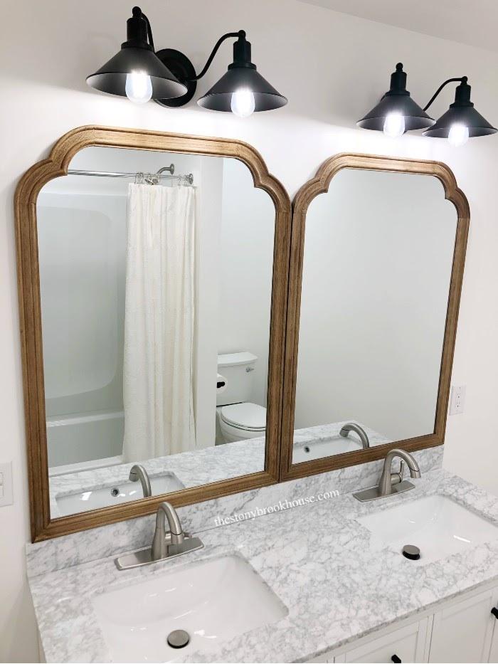 2021 Guest Bath Remodel Mirrors