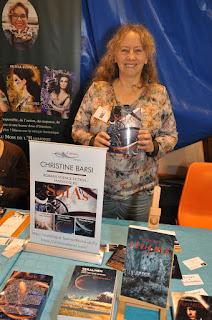 L'auteure Christine Barsi en dédicace