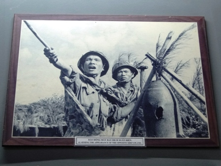 Museo de Vinh Moc en la Zona Desmilitarizada Vietnam