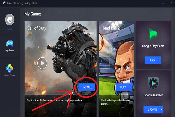 طريقة تشغيل لعبة Call of Duty Mobile على الحاسوب مجانا