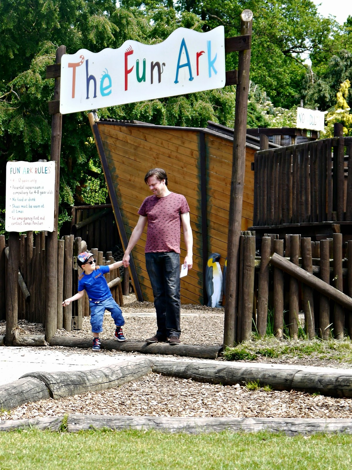 Chester Zoo, play area