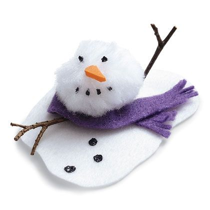 Craft: Melty the Snowman