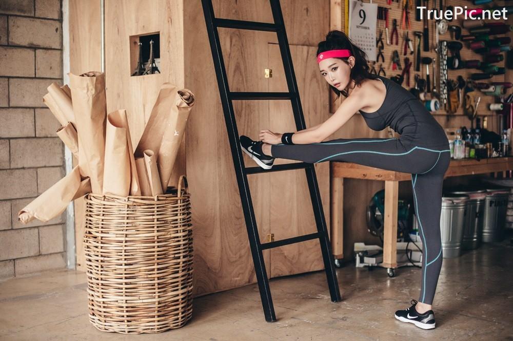 Image Korean Fashion Model - Yoon Ae Ji - Fitness Set Collection - TruePic.net - Picture-7