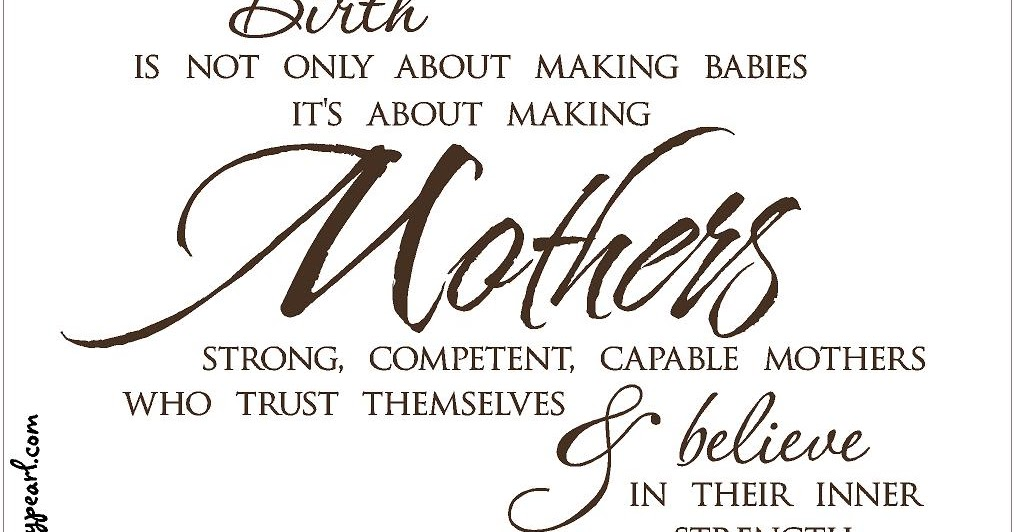 Strawberrypearl Studios: Baby Week: Strong Mothers
