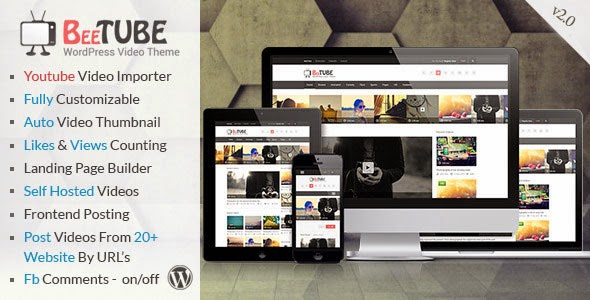 Bee Tube Video WordPress Theme