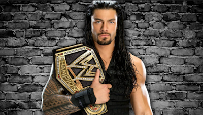 WWE Champion Roman Reigns HD Wallpaper