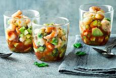 مقبلات وفواتح شهية| سلطة المأكولات البحرية بلودي ماري  seafood salad