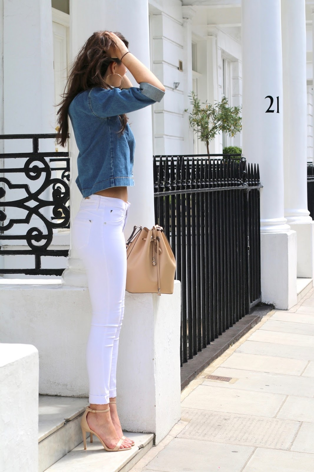 double denim summer style