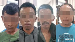 Pencuri Hewan Ternak Berhasil Dibekuk Satreskrim Polres Jember dan Dihadiahi Timah Panas