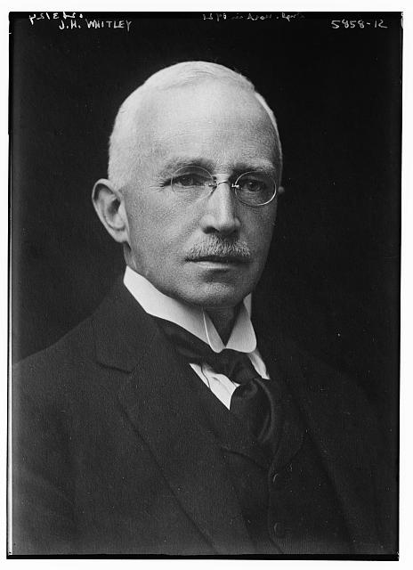 John Henry Whitley, Chairman of Whitley Commission 1929