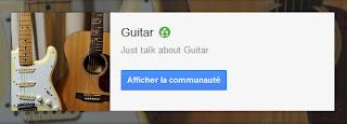 communauté pour les guitaristes