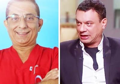 عباس أبو الحسن والتقارير الفنية لمقاطع الفيديو ضد مطاردة طبيب الأسنان المتحرش بالرجال