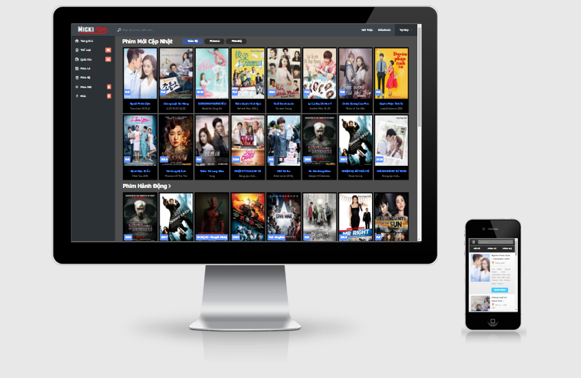 Micki Film - Movie Responsive Blogger Template