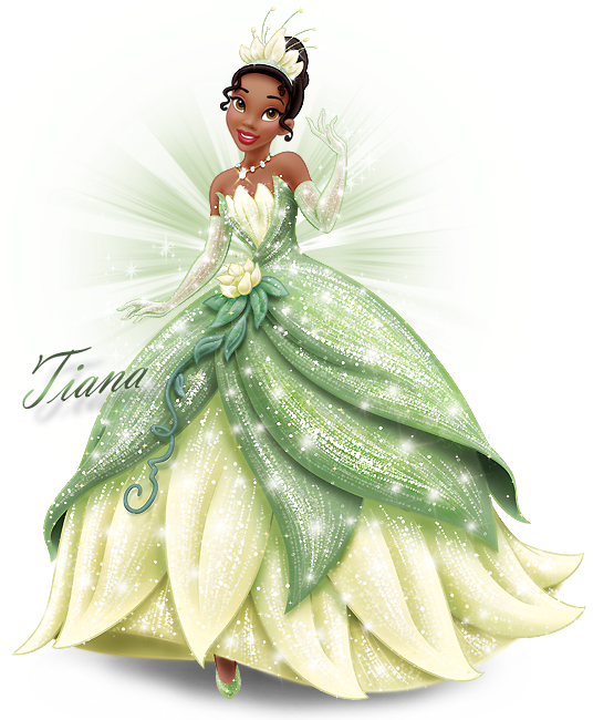 Tiana Transparent Animated Princess: A Princesa E O Sapo 1