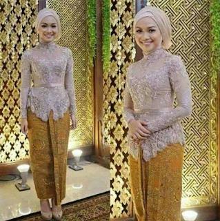 model baju kebaya brokat 2019