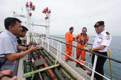 Dua Kapal Transfer BBM Kembali Ditangkap Bakamla RI