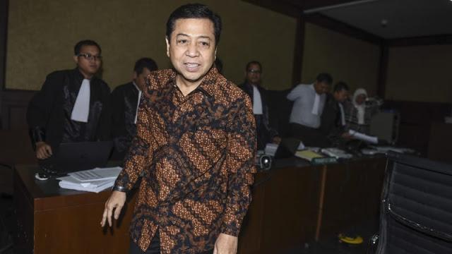 Izin dari Jokowi Jadi Alasan Novanto Tolak Pemeriksaan KPK