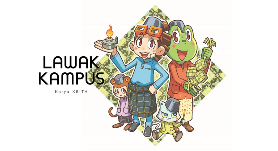 Lawak Kampus / Keith 張家輝