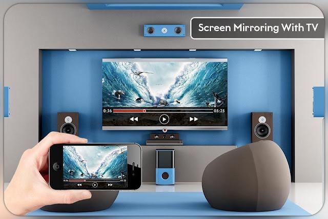 تطبيق لمشاركة شاشة هاتفك على التلفاز بدون كوابل