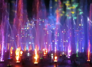 World of Color Celebrate Fountains