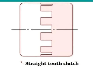 Straight tooth clutch