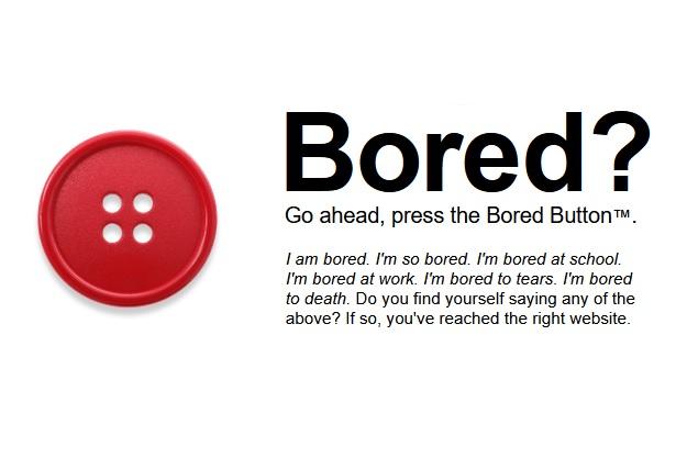Bored Button - Μία έξυπνη ιστοσελίδα για να σκοτώσεις την ώρα σου...