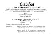 Panduan Pelaksanaan Takbir dan Shalat Idul Fitri Tahun 1441 H