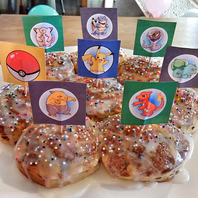 diy pokemon cupcake topper picks