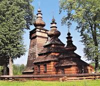 Łemkowska cerkiew - Kwiatoń