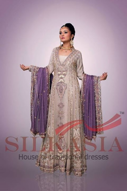 New Pakistani Bridal Girl's Fashion Wear Collection 2013