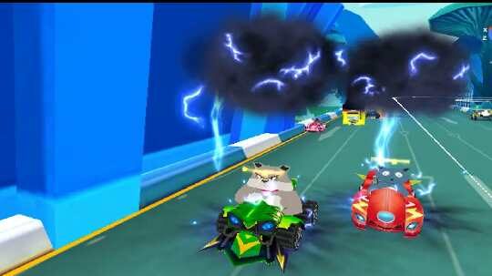 Game Super Talking Cat Tom And Speed Kart Drifters