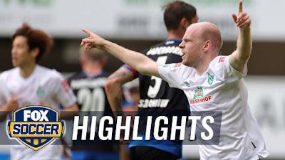 Video SC Paderborn 1-5 Werder Bremen: Vòng 31 Bundesliga