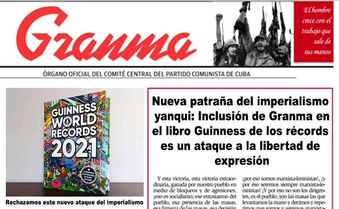 Incluyen al periódico Granma en el libro Guinness de los récords