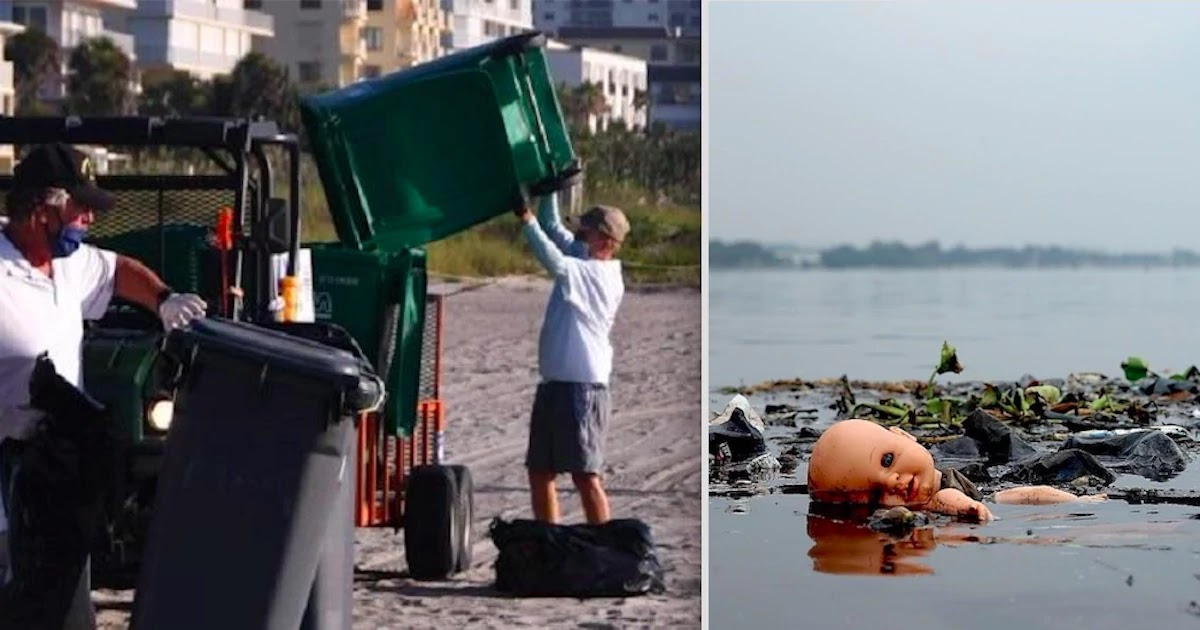 Over 13000 Pounds Of Trash Collected At Florida Beach Only Weeks After It Reopened