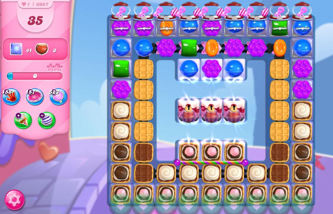 Candy Crush Saga level 6057