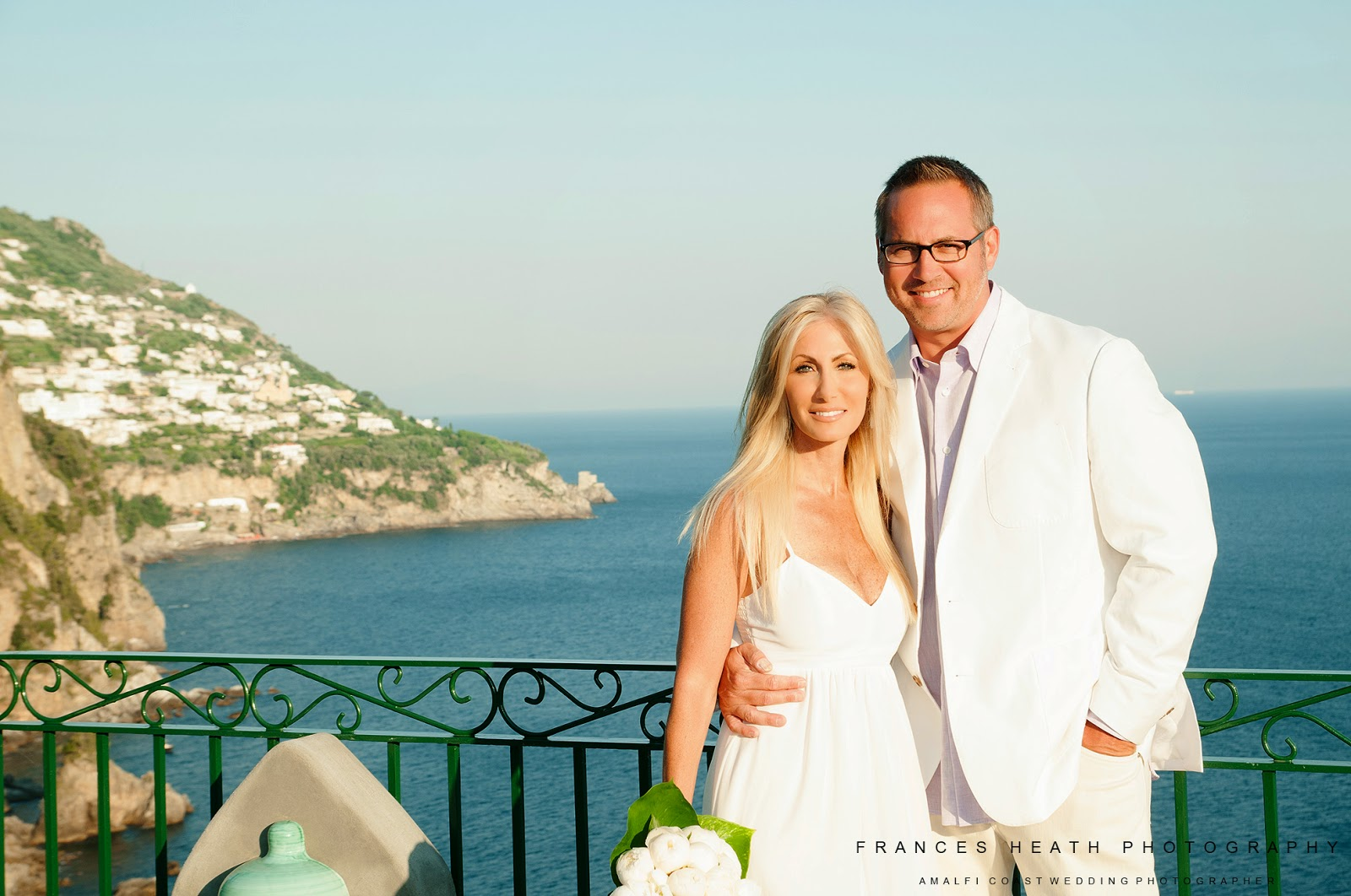 Wedding anniversary portrait Positano