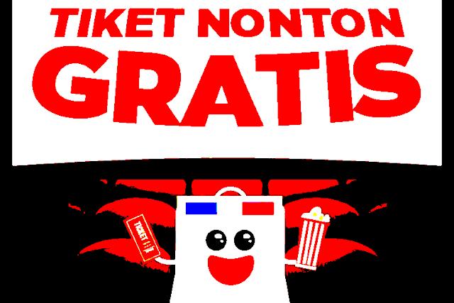 Cara Mendapatkan Tiket Nonton Film Bioskop Secara Gratis Tanpa Uang