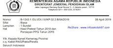 Pengumuman Hasil Prestest PPG Tahun 2018 Dan Persiapan PPG Tahun 2019