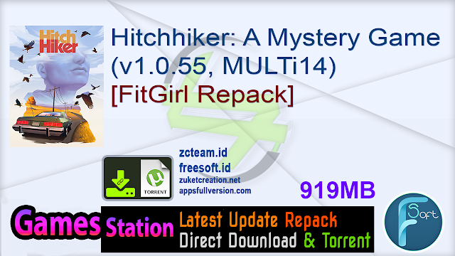 Hitchhiker A Mystery Game (v1.0.55, MULTi14) [FitGirl Repack]